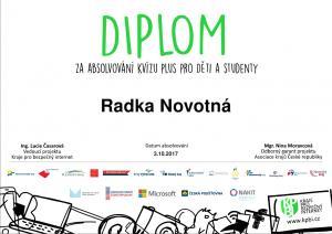 I1 Radka Novotná